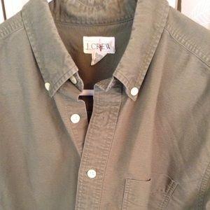 J.Crew Olive Green Shirt
